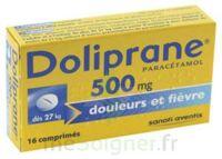 Doliprane 500 Mg Comprimés 2plq/8 (16) à HEROUVILLE ST CLAIR