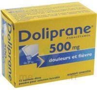Doliprane 500 Mg Poudre Pour Solution Buvable En Sachet-dose B/12 à HEROUVILLE ST CLAIR