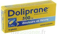 Doliprane 500 Mg Gélules B/16 à HEROUVILLE ST CLAIR