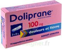Doliprane 100 Mg Suppositoires Sécables 2plq/5 (10) à HEROUVILLE ST CLAIR