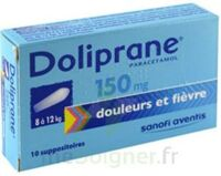Doliprane 150 Mg Suppositoires 2plq/5 (10) à HEROUVILLE ST CLAIR