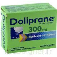 Doliprane 300 Mg Poudre Pour Solution Buvable En Sachet-dose B/12 à HEROUVILLE ST CLAIR