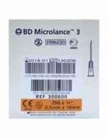Bd Microlance 3, G25 5/8, 0,5 Mm X 16 Mm, Orange  à HEROUVILLE ST CLAIR
