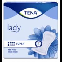 Tena Lady Protection Anatomique Adhésive Super Sachet/30 à HEROUVILLE ST CLAIR