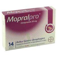 Mopralpro 20 Mg Cpr Gastro-rés Film/14 à HEROUVILLE ST CLAIR