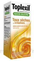 Toplexil 0,33 Mg/ml Sans Sucre Solution Buvable 150ml à HEROUVILLE ST CLAIR