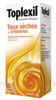 Toplexil 0,33 Mg/ml, Sirop 150ml à HEROUVILLE ST CLAIR