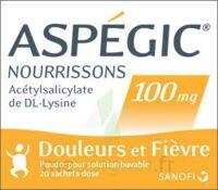 Aspegic Nourrissons 100 Mg, Poudre Pour Solution Buvable En Sachet-dose à HEROUVILLE ST CLAIR