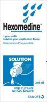 Hexomedine 1 Pour Mille S Appl Loc Fl/250ml à HEROUVILLE ST CLAIR