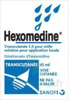 Hexomedine Transcutanee 1,5 Pour Mille, Solution Pour Application Locale à HEROUVILLE ST CLAIR