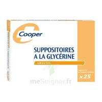 Suppositoires A La Glycerine Cooper Suppos En Récipient Multidose Adulte Sach/25 à HEROUVILLE ST CLAIR