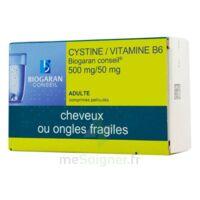 Cystine/vitamine B6 Biogaran Conseil 500 Mg/50 Mg Cpr Pell Plq/120 à HEROUVILLE ST CLAIR