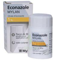 Econazole Mylan 1 % Pdr Appl Cut Fl/30g à HEROUVILLE ST CLAIR