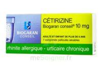 Cetirizine Biogaran Conseil 10 Mg, Comprimé Pelliculé Sécable à HEROUVILLE ST CLAIR