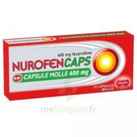 Nurofencaps 400 Mg Caps Molle Plq/10 à HEROUVILLE ST CLAIR