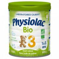 Physiolac Lait Bio 3eme Age 900g à HEROUVILLE ST CLAIR