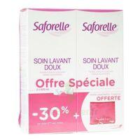 Saforelle Solution Soin Lavant Doux 2*500ml+pochette à HEROUVILLE ST CLAIR