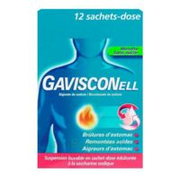 Gavisconell Suspension Buvable Sachet-dose Menthe Sans Sucre 12sach/10ml à HEROUVILLE ST CLAIR