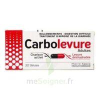 Carbolevure Gélules Adulte Plq/30 à HEROUVILLE ST CLAIR