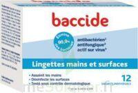 Baccide Lingette Désinfectante Mains & Surface 12 Pochettes à HEROUVILLE ST CLAIR
