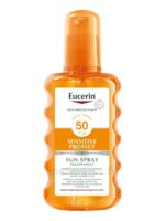 Eucerin Sun Sensitive Protect Spf50 Spray Transparent Corps 200ml à HEROUVILLE ST CLAIR