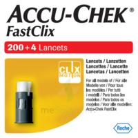 Accu-chek Fastclix Lancettes B/204 à HEROUVILLE ST CLAIR