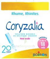 Boiron Coryzalia Solution Buvable Unidose B/20 à HEROUVILLE ST CLAIR