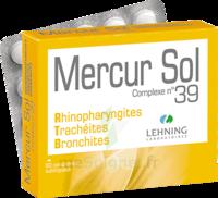 Lehning Mercur Sol Complexe N°39 Comprimés Sublinguals B/60 à HEROUVILLE ST CLAIR